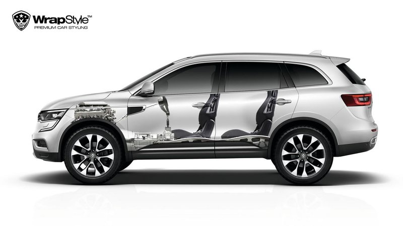 Renault Koleos - See through design