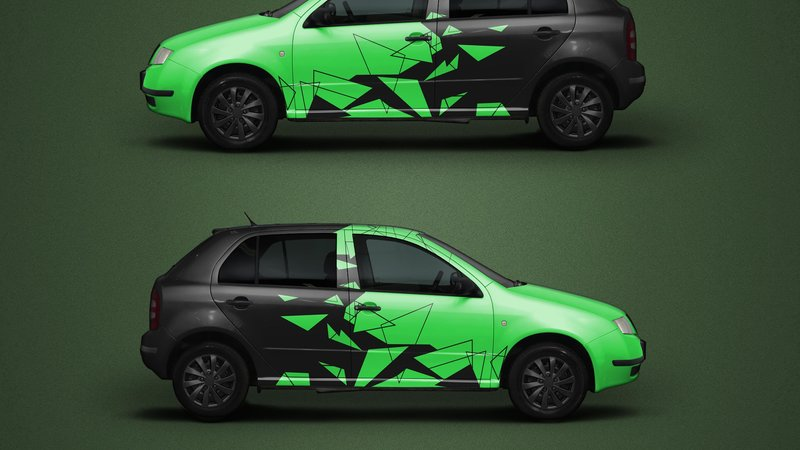 Skoda Fabia - Triangles_design