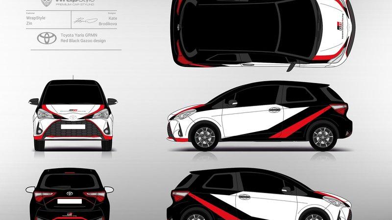 Toyota Yaris - GRMN Gazoo design