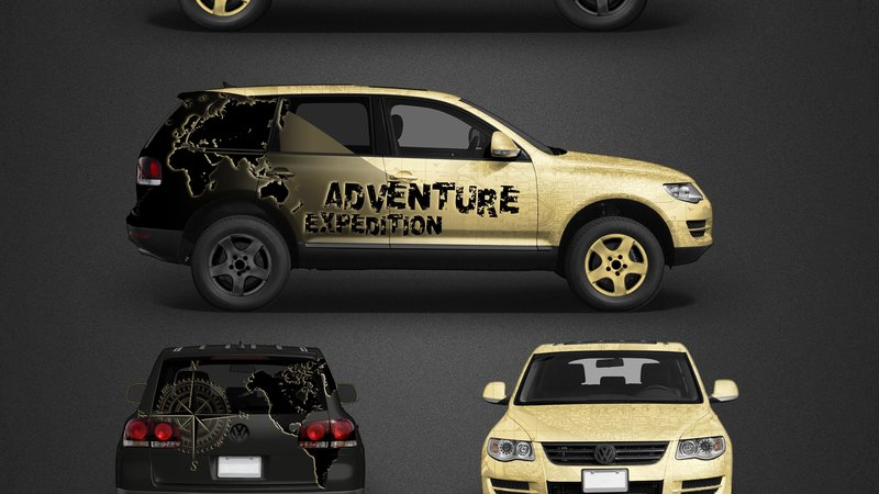 Volkswagen Touareg - Adventure Expedition design - img 1 small