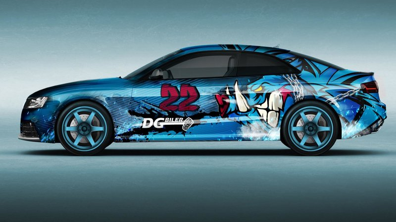 Audi RS5 - Drift Series design - img 1 small