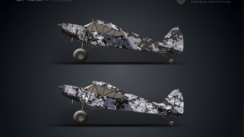 Airplane - Camo design