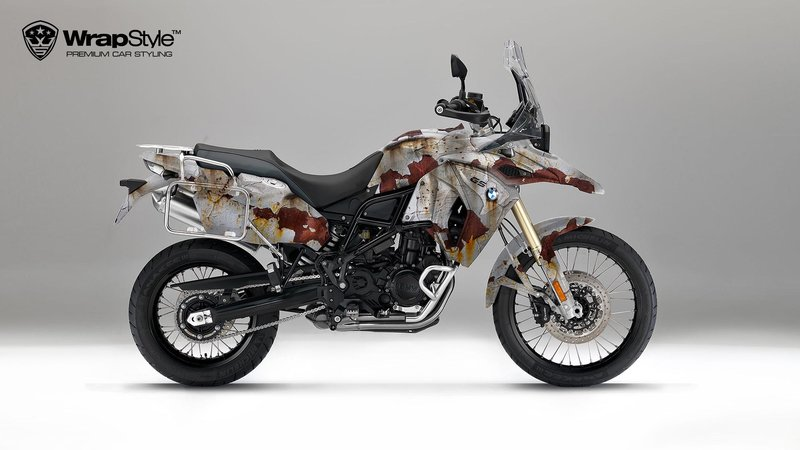 BMW F800 - Rusty design