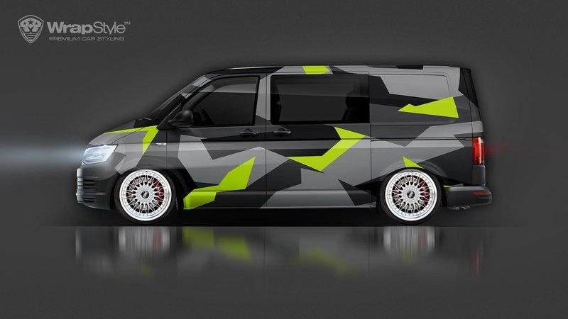 Volkswagen Transporter T6 - Camo design