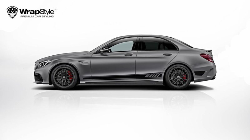 Mercedes AMG C63 - Stripes design