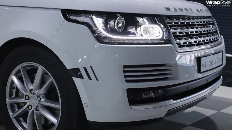 Range Rover Vogue - Grey Gloss wrap - img 3 small