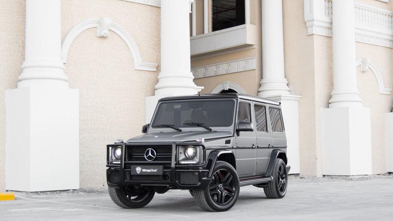 Mercedes G - Grey Matt wrap