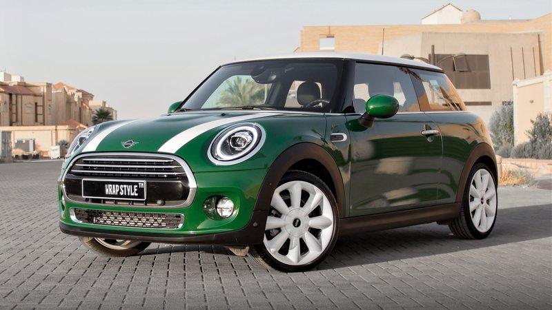 Mini Cooper - Green Gloss wrap