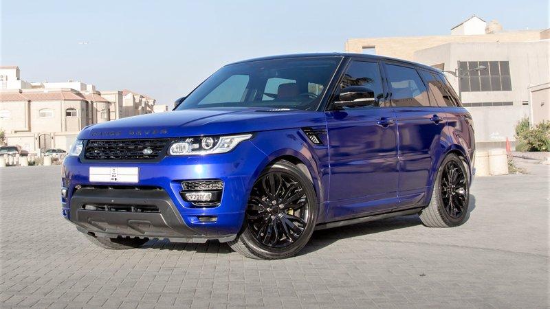 Range Rover Sport - Blue Gloss wrap