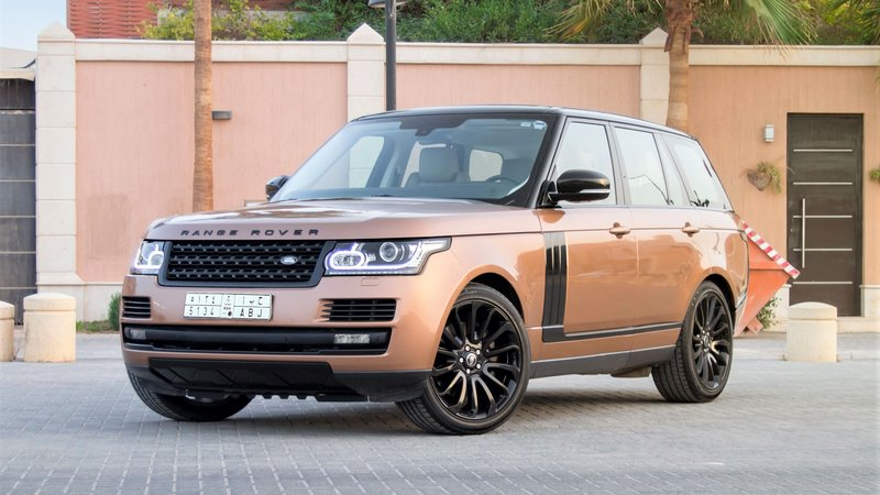 Range Rover Sport HSE - Bronze Pearl wrap