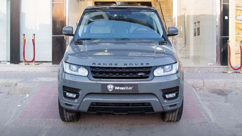 Range Rover Sport HSE - Grey Gloss wrap