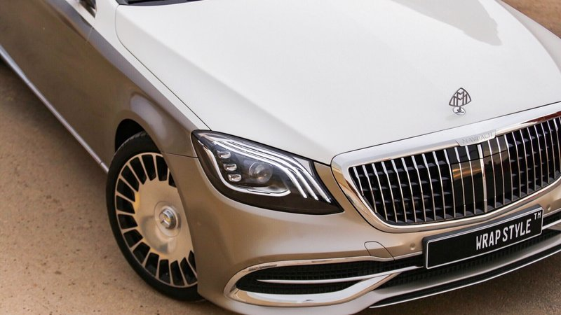 Mercedes Maybach - Beige Gloss wrap - img 2 small