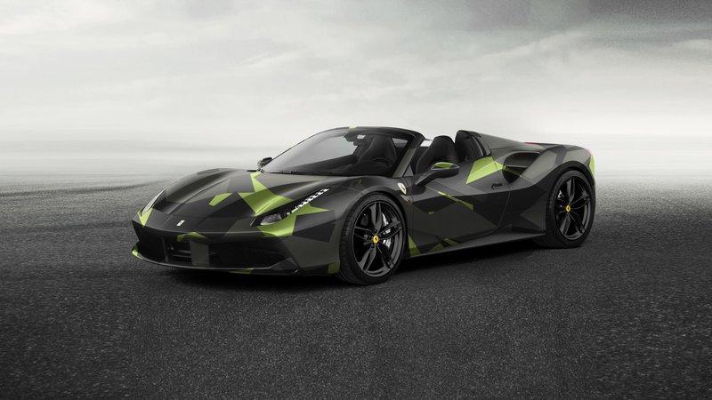 Ferrari Spider - Camo design