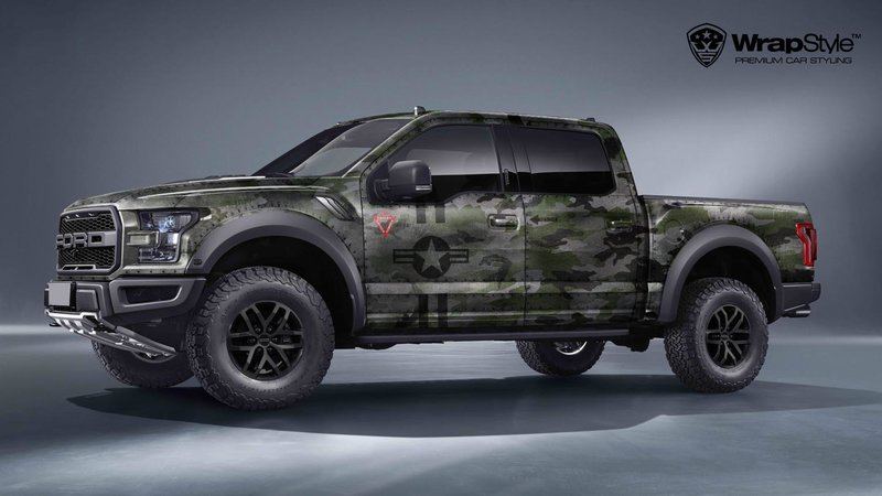 Ford Raptor - Jet Camo design