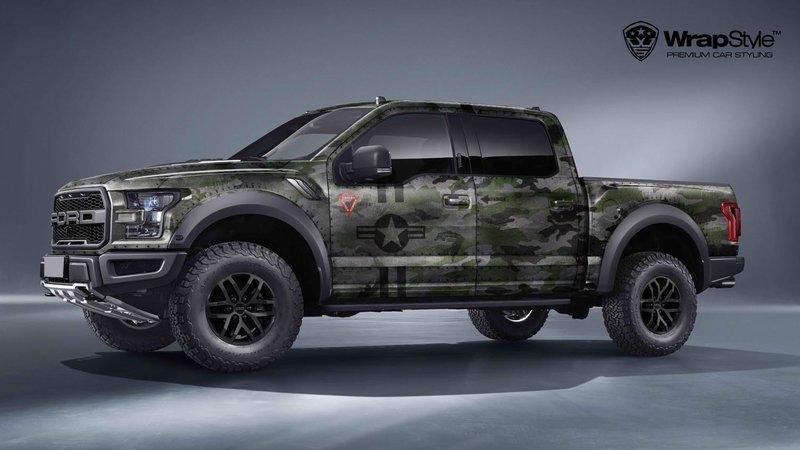 Ford Raptor - Jet Camo design