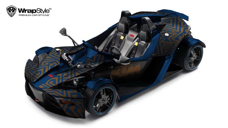 KTM Gulf Car - Abstract design