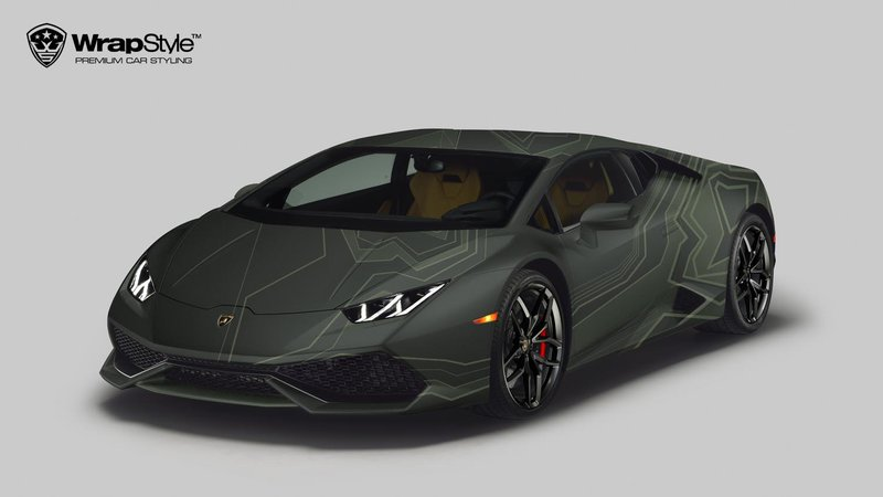 Lamborghini Huracan - Camo design