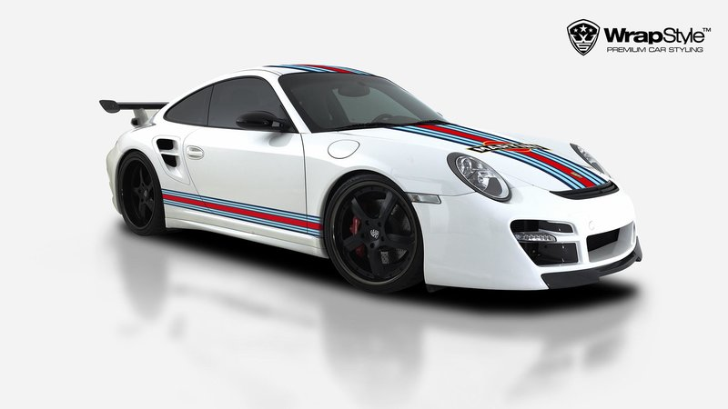 Porsche Turbo 997 - Martini design