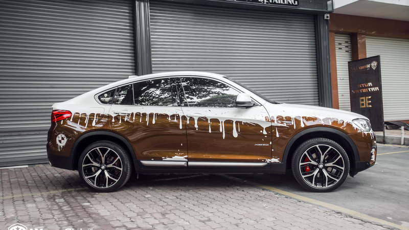 BMW X4 - Paint Design