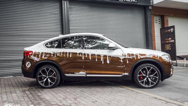 BMW X4 - Paint Design
