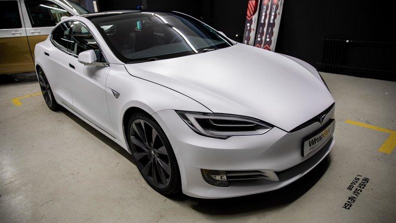 Tesla Model 3 - Matt White