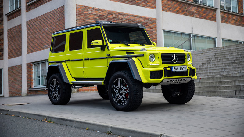Mercedes-Benz G 500 4x4 - OpticSheild Nano