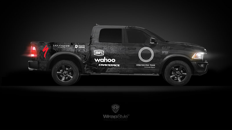 Dodge RAM - Oko racing design
