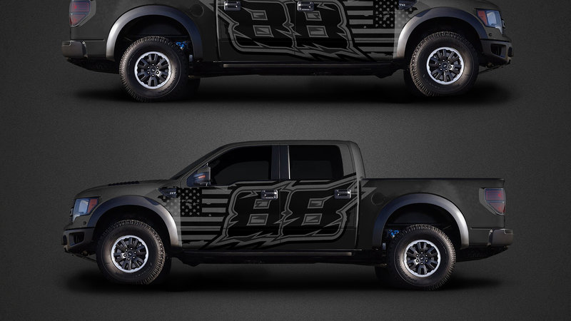 Ford F150 Raptor - 88 Race design