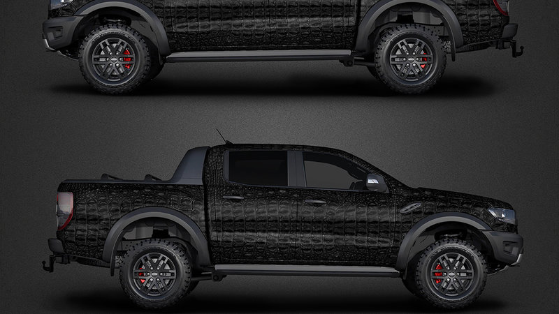 Ford Ranger - Crocodile texture design