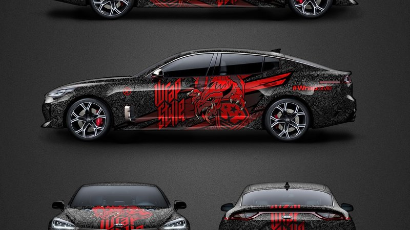Kia Stinger - Dragon design