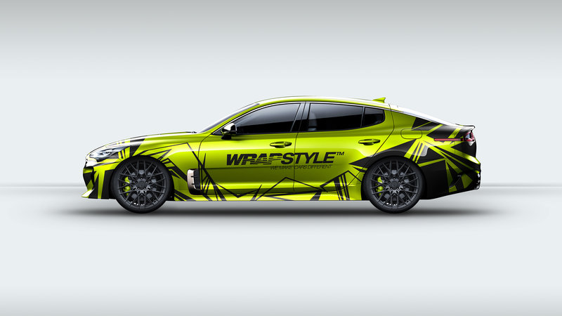 Kia Stinger - Wrapstyle design
