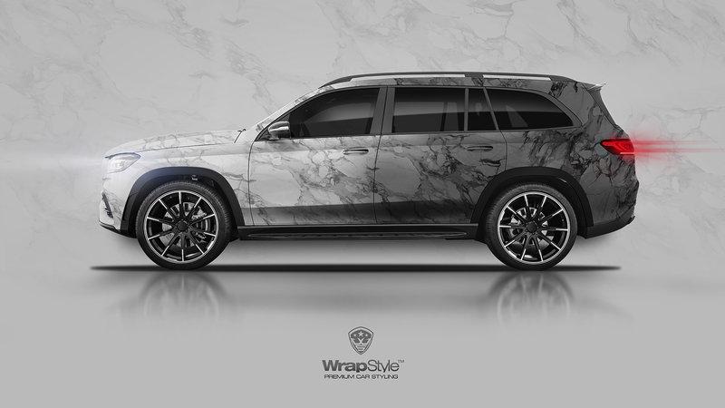 Mercedes CLA - Marble design