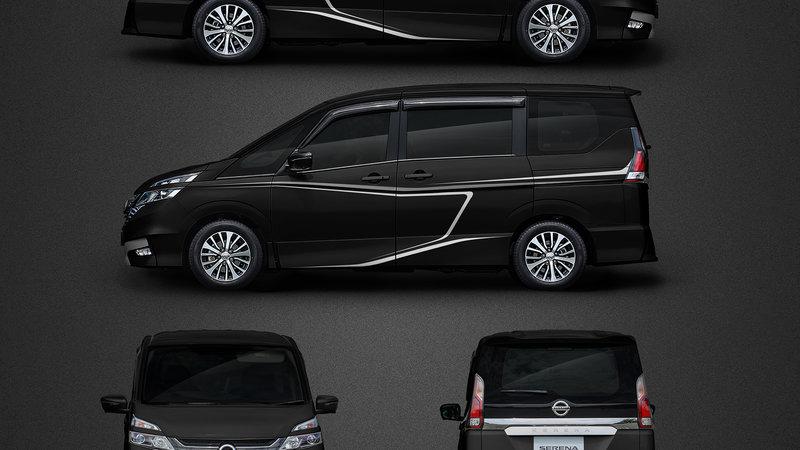 Nissan Serena - Stripes decals design