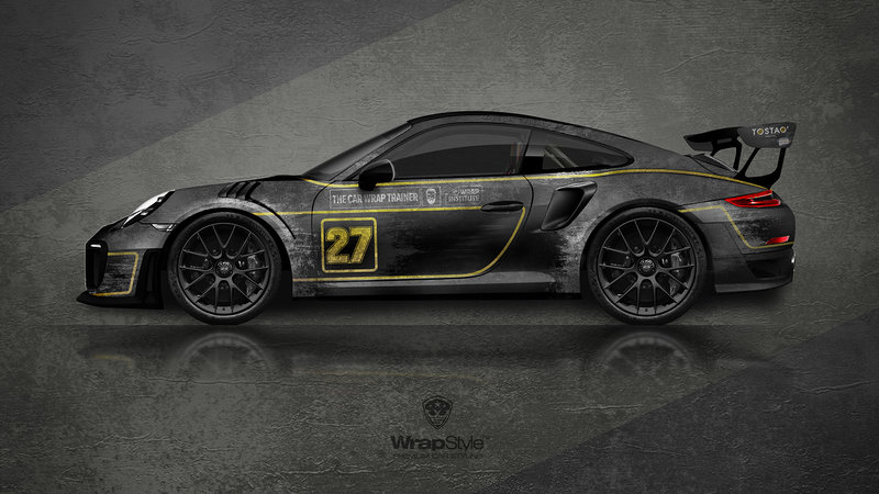 Porsche 911 GT2 - Rusty sport raine lorz design