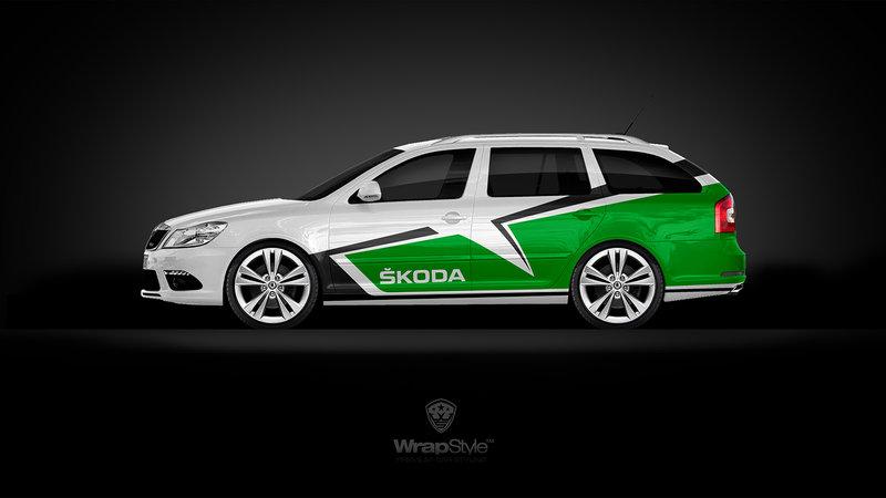 Skoda Octavia RS Combi - R3 design
