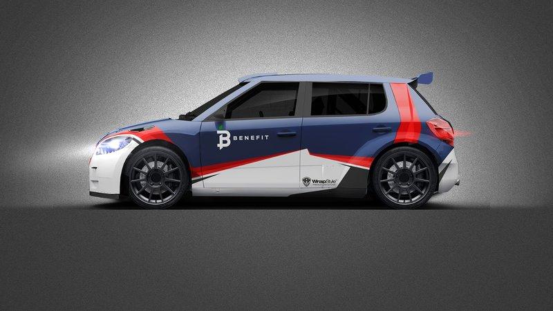 Skoda Fabia - Racing Rally design