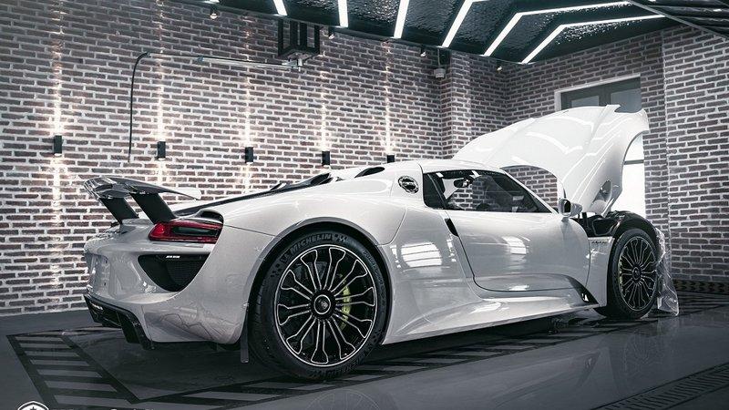 Porsche 918 Spyder - OpticShield Nano