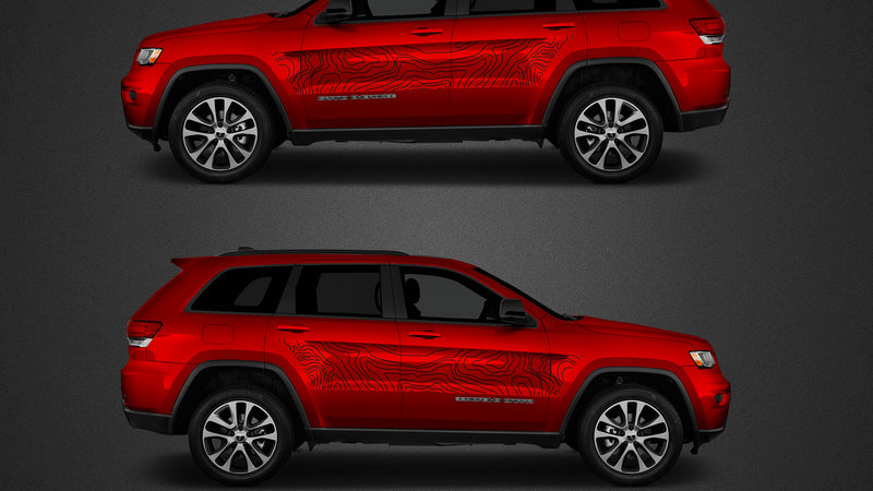 Jeep Cherokee - Trailhawk Samohýl design