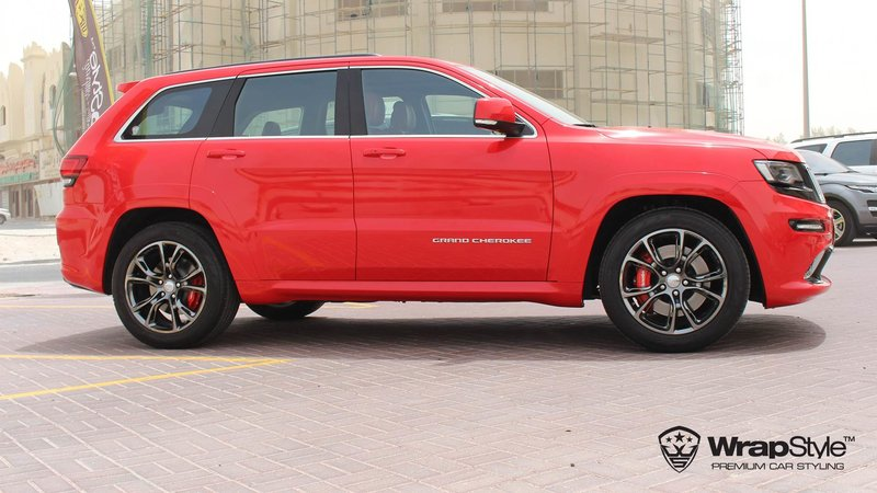 Jeep Grand Cherokee SRT carmine red gloss - img 4 small