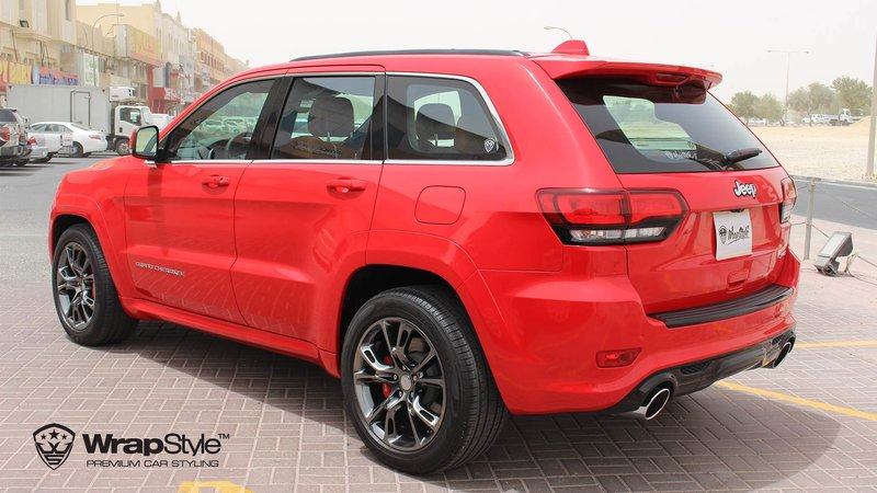 Jeep Grand Cherokee SRT carmine red gloss - img 3 small
