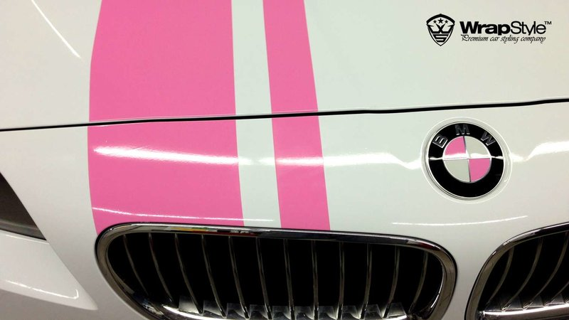 BMW 5 F10 Pink performance - img 1 small