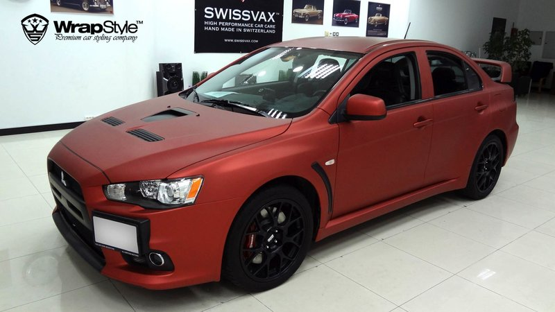 Mitsubishi Lancer X Red Alu - img 1 small
