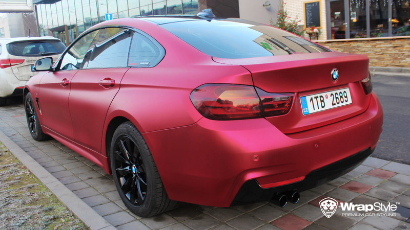 BMW 4 Grandcoupe - Red cherry chrome - img 1 small