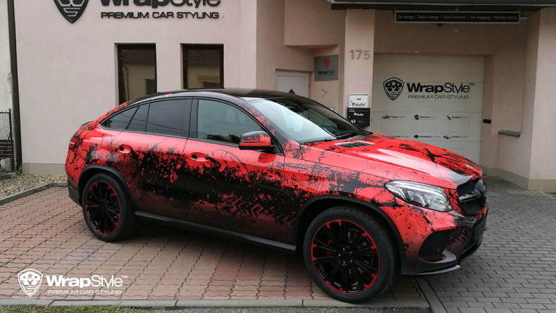 Mercedes GLE - Zombie design - img 2 small