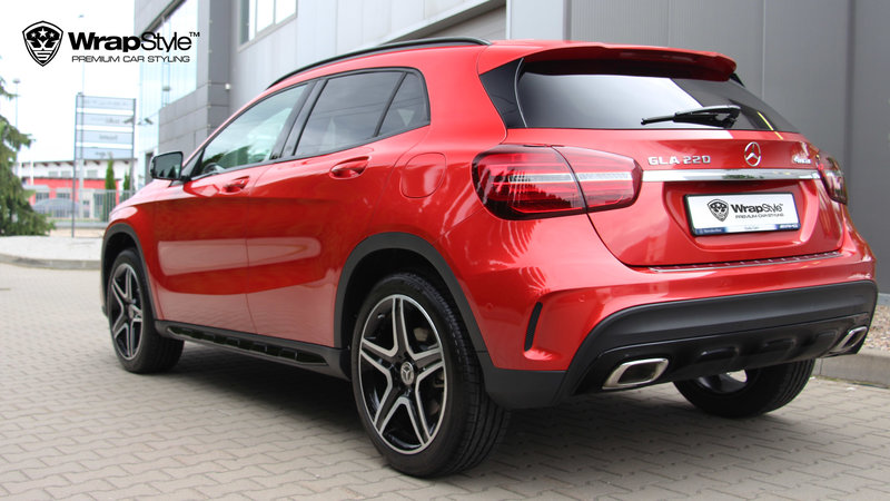 Mercedes GLA - Fire Red wrap - img 1 small