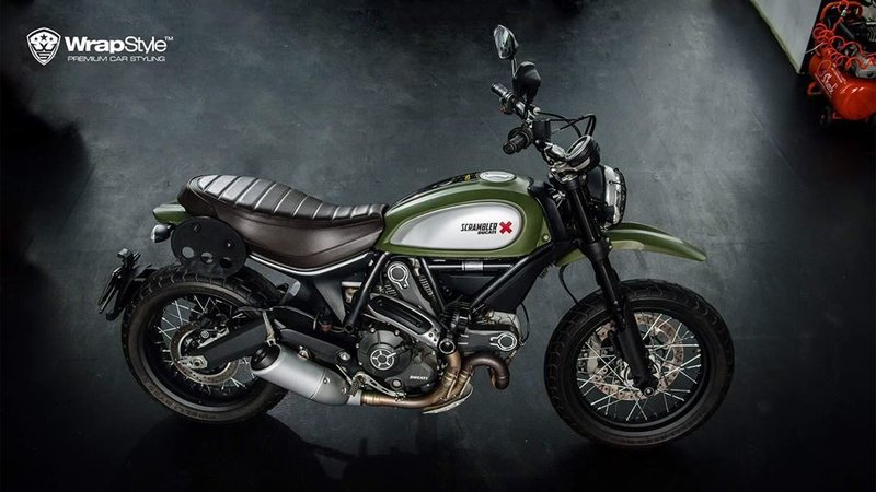 Ducati Scramber - Military design - img 2 small