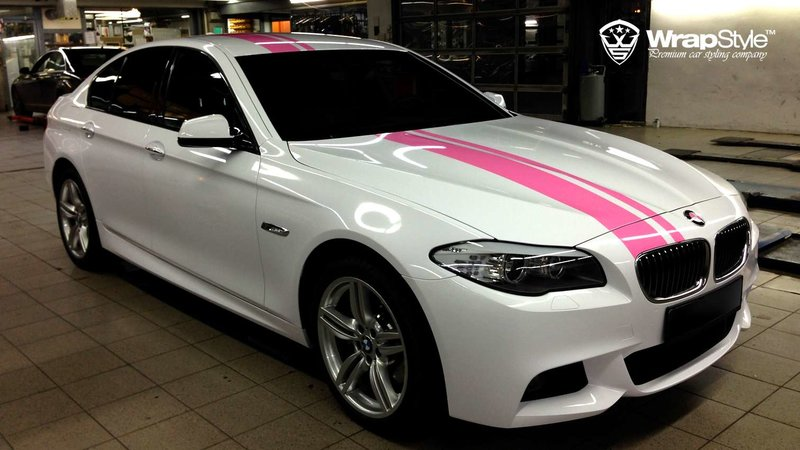 BMW 5 F10 Pink performance - img 2 small