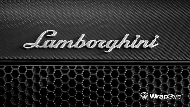 Lambo Murcielago - Black Carbon wrap - img 2 small