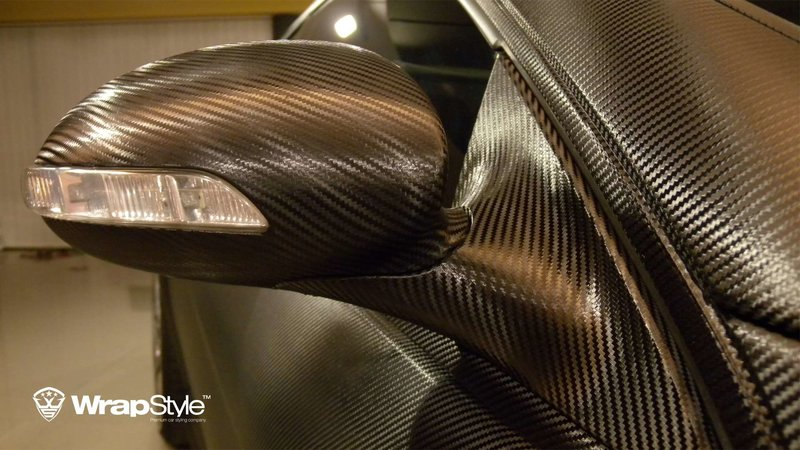 Mercedes CL - Black Carbon wrap - img 1 small